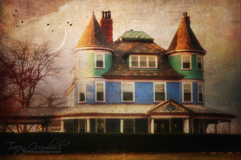 architecture of a local bed and breakfast