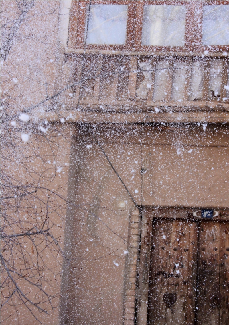 Empty House on Snowy Days!