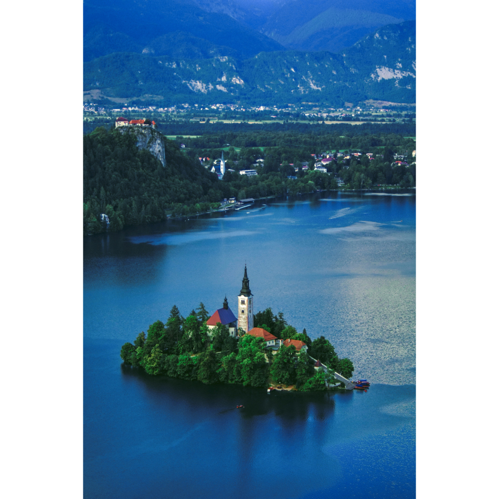 View of Lake Bled, Slovenia