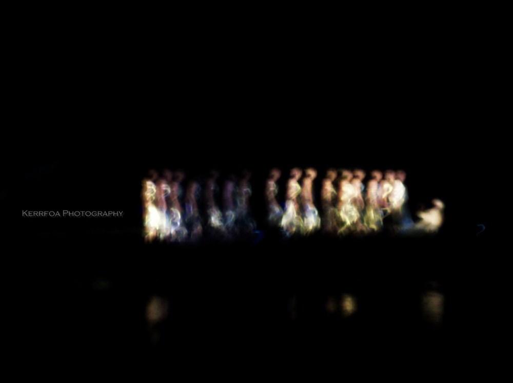 Light Painting Les Danseuses de l'Eau