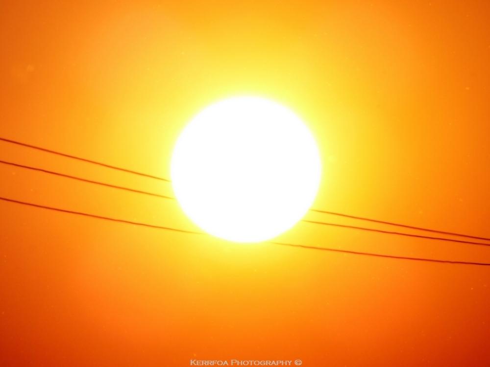 Le soleil est un funambule