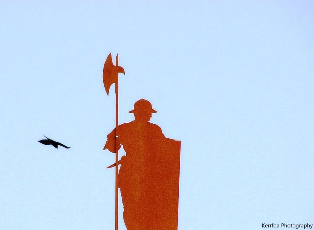 Le soldat et l'oiseau