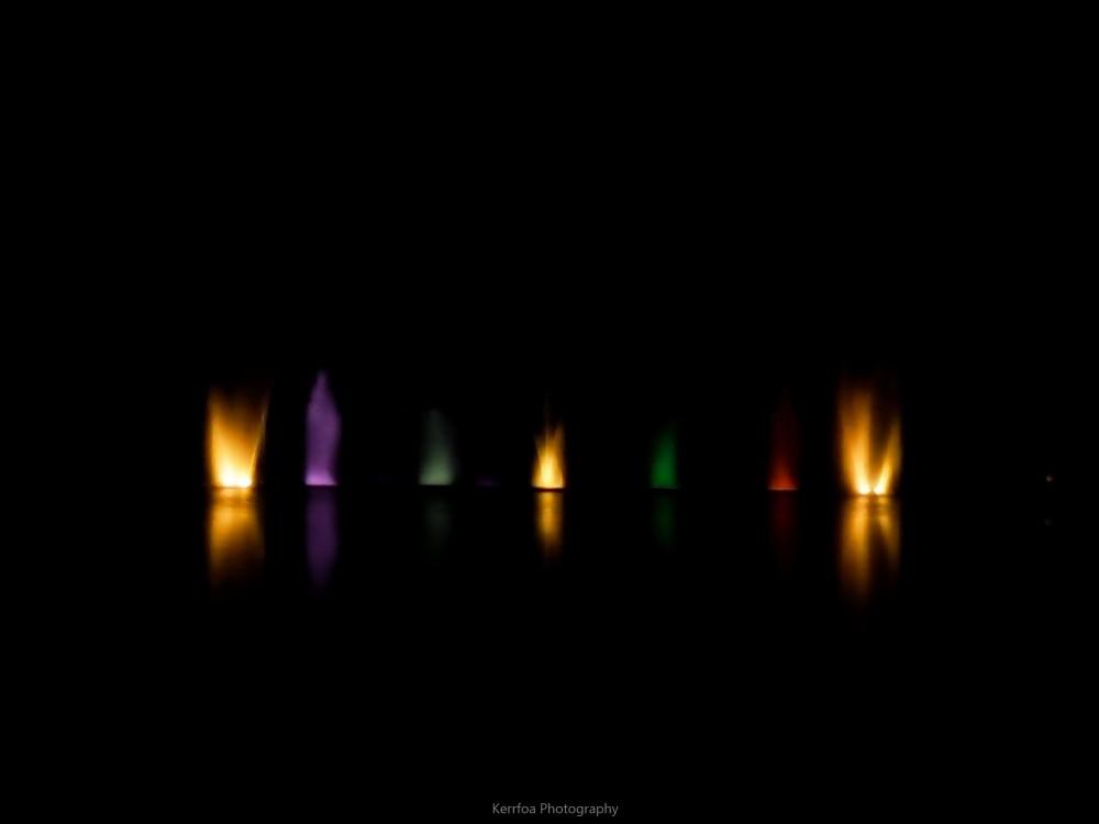 Reflets de lumière