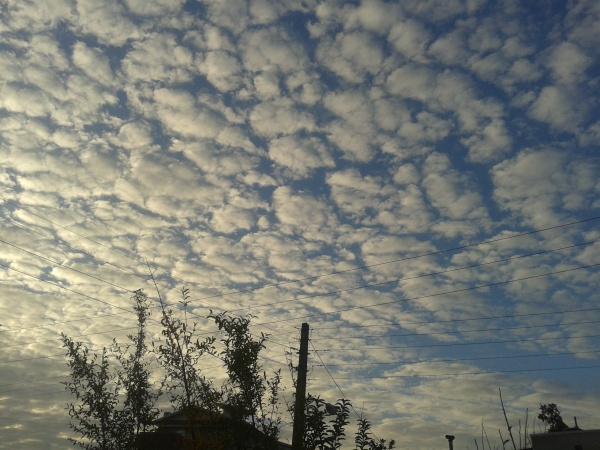 ...آسمان هم بی تو تکه ، تکه است نگاه کن
