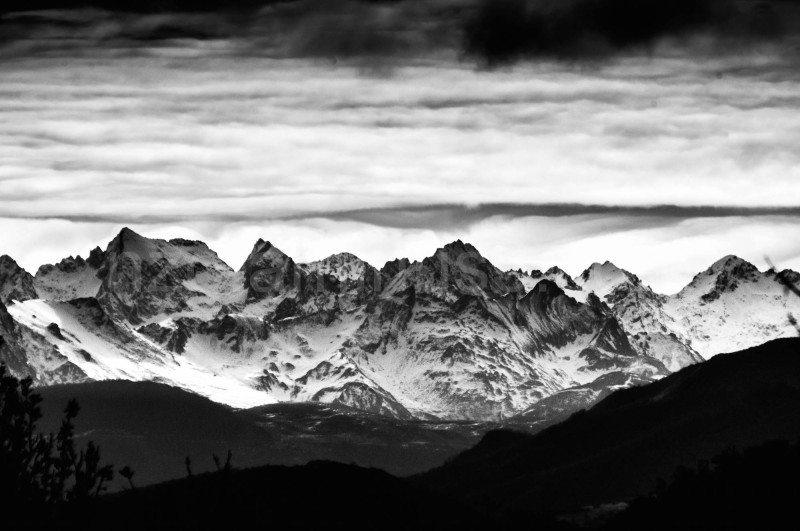 A part of Pyrénées, from my window