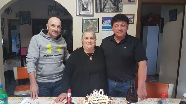 Giovanna Torcasio: 80th Birthday