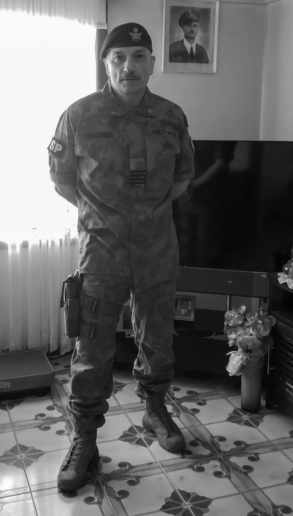 John Torcasio: Wearing DPCU Uniform