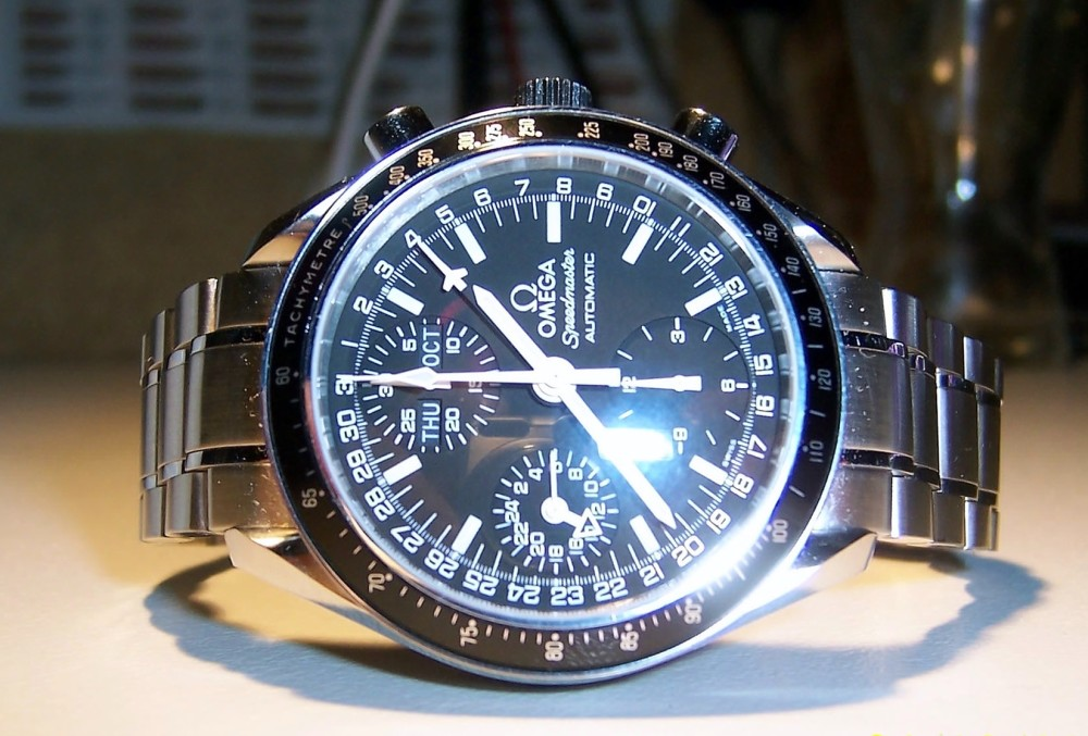 Omega Speedmaster Day‑Date Chronograph