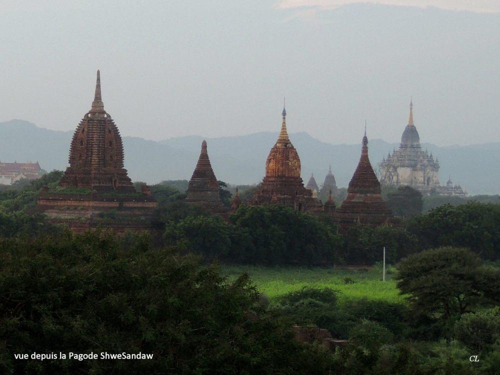 Myanmar pagode Shwesandaw