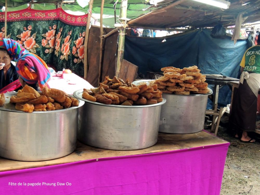 les beignets birmans