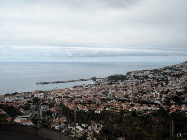 Funchal vu du jardin botanique