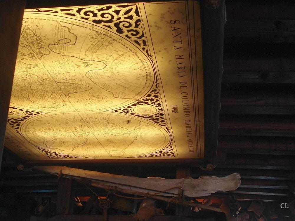 Intérieur de la Santa Maria