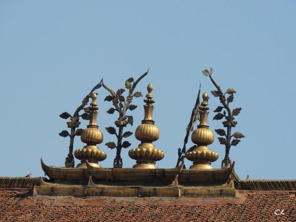 square Durbar à Katmandou