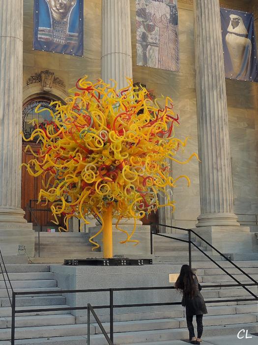 Entrée du musée des beaux arts de Montréal