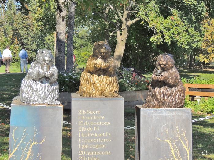 Trois petites marmottes