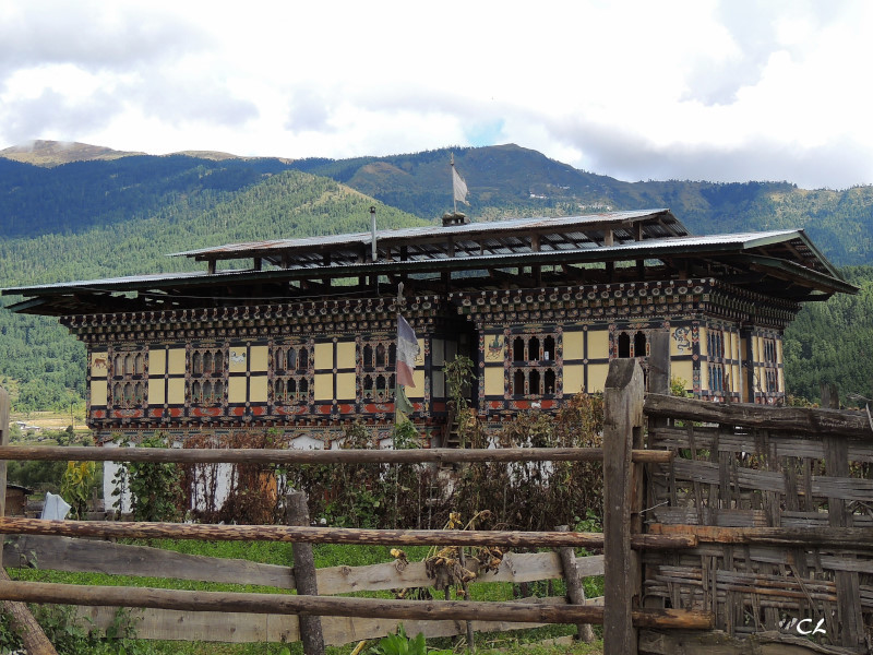 Maison bouthanaise