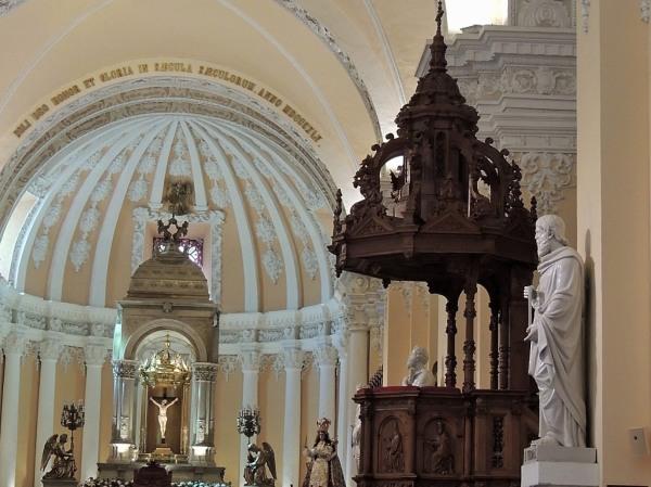 Cathédrale Notre Dame d'Arequipa