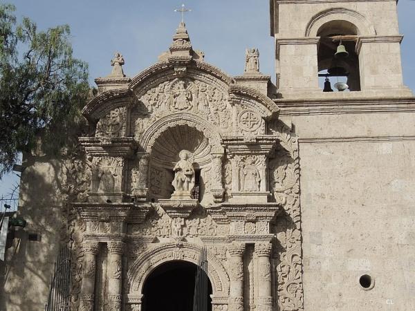 Iglesia de San Juan Baptista Parroquia Yanahuara