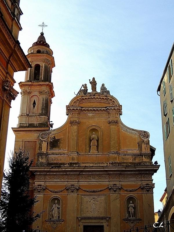Basilique Saint-Michel Archange de Menton