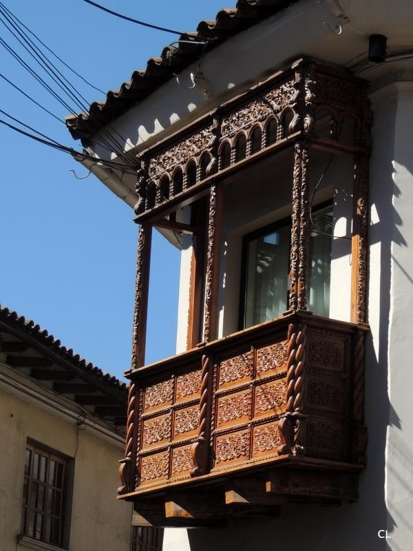 Balcon typique