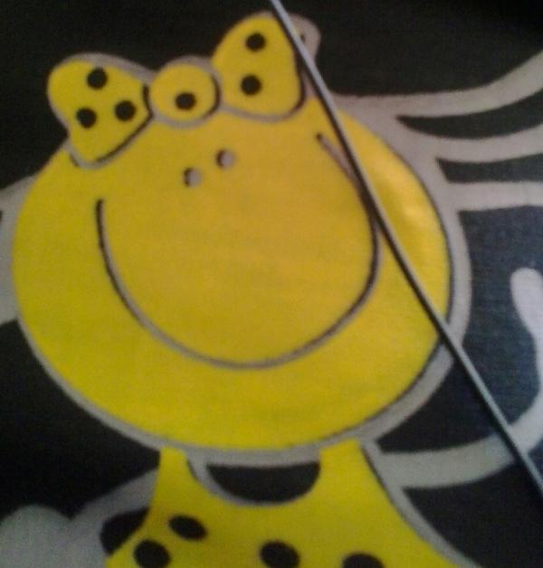 عكس روی لباسم داره به تو می خنده! پس تو هم بخند :)