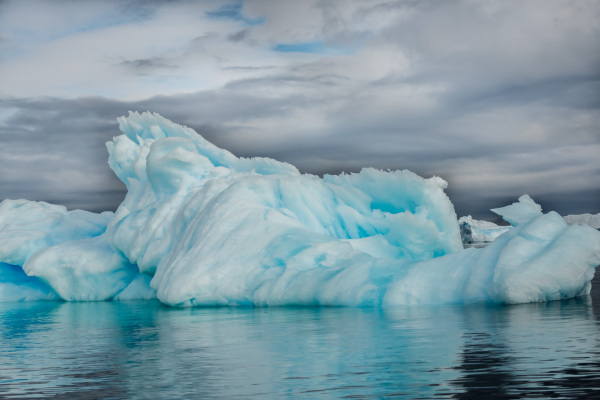 A Beautiful Blue Iceberg