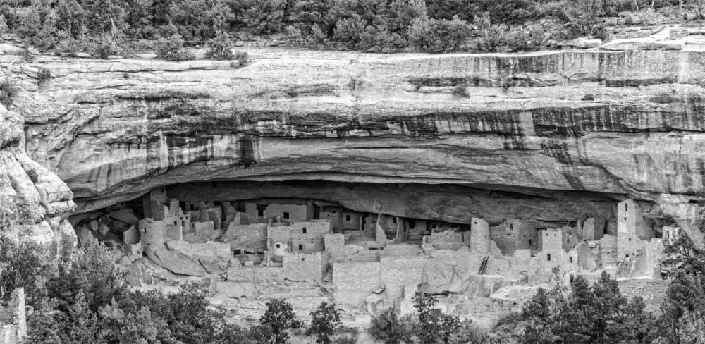 Cliff dwellers of Mesa Verde