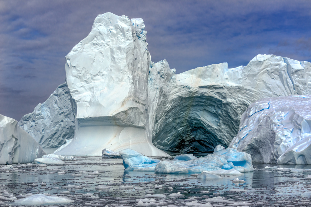 A Complex Iceberg (color)