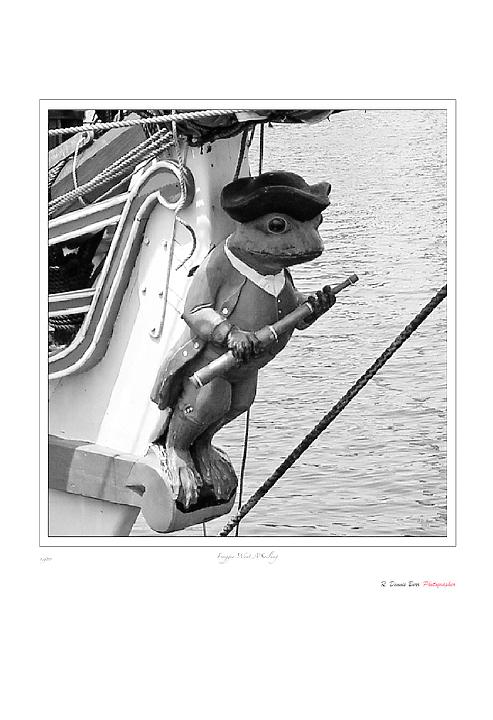 Froggie Went A'Sailin'
