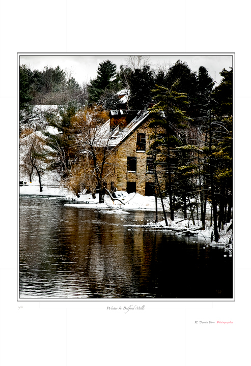 Bedford Mills- Winter