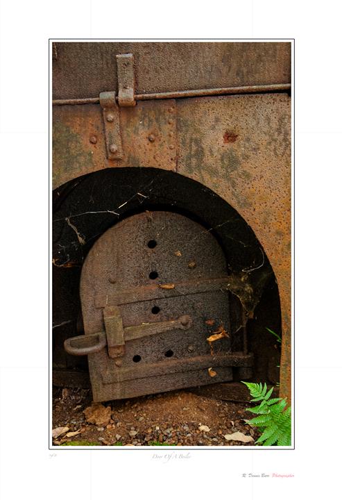 Door Of A Boiler