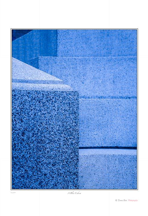 A Blue Cubism