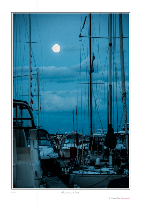 Blue Moon At Berth
