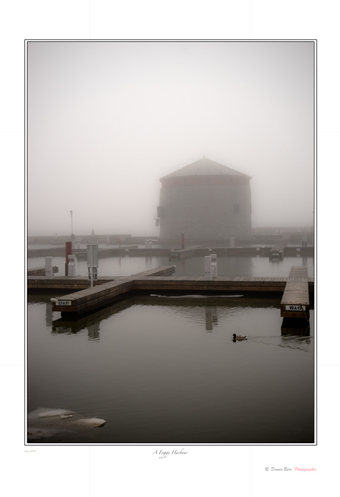 A Foggy Harbour