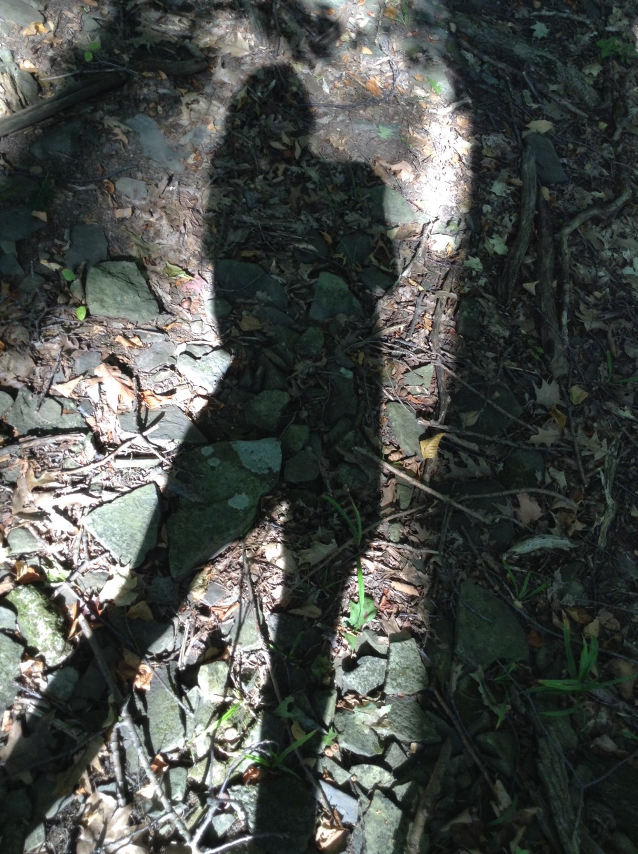 Capturing my shadow! Is so fun.