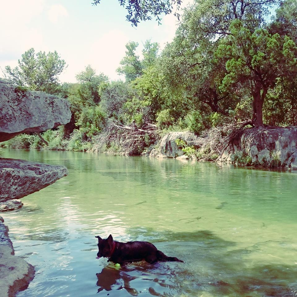 Swimming in September in Texas