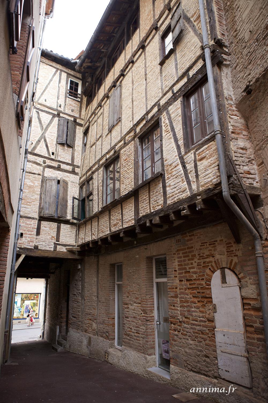 old street, albi