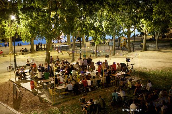 Guinguette, Toulouse, food, danse, music