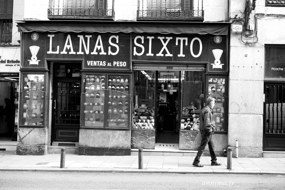 old shop, Madrid