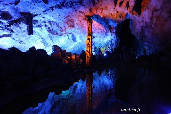 Grotte, reflet