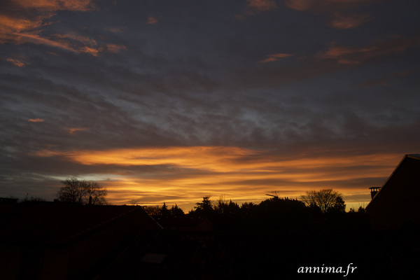 sunrise, Toulouse