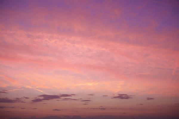 sky, sunrise, pink