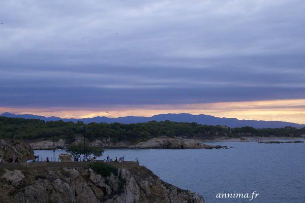 Spain, Mediterranean sea, pyrenees, clouds