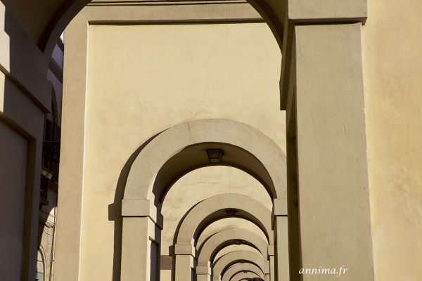 arches, italy, firenze