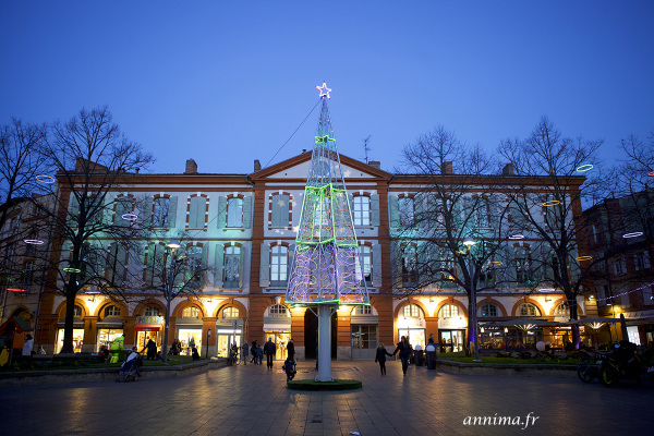 xmas light, Toulouse
