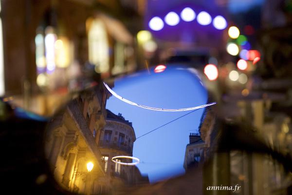 retrospective, reflection, lights