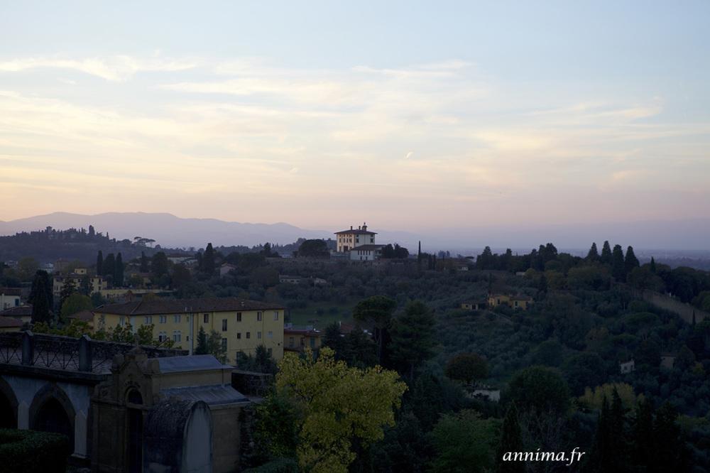 Florence, sunset