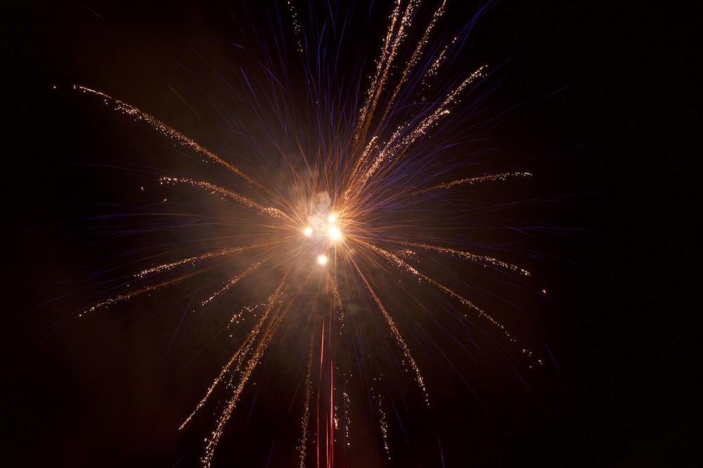 Fireworks, Bastille Day