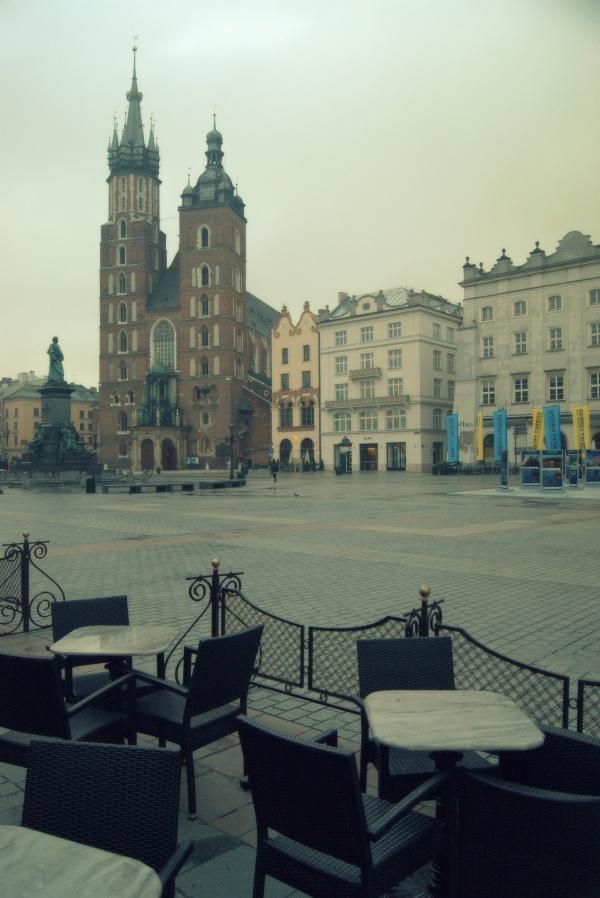 Krakow, main square