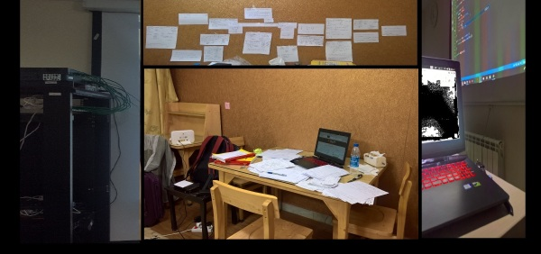 and i was studying . . .